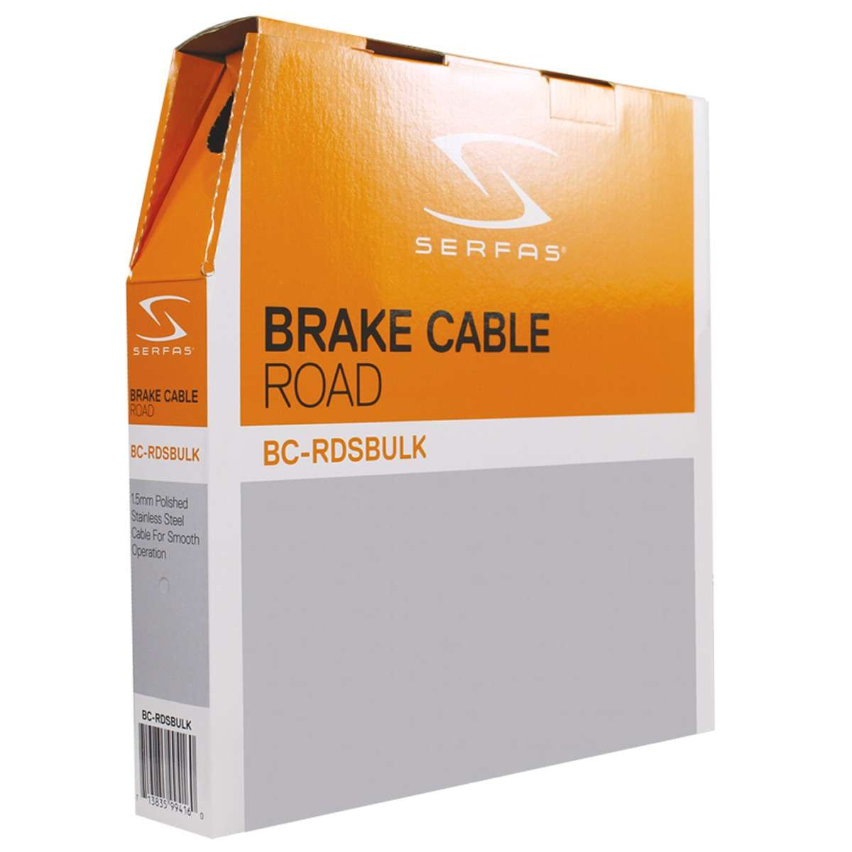Serfas Road Bicycle Stainless Steel Bicycle Brake Cable - Bulk Box - BC-RDSBULK