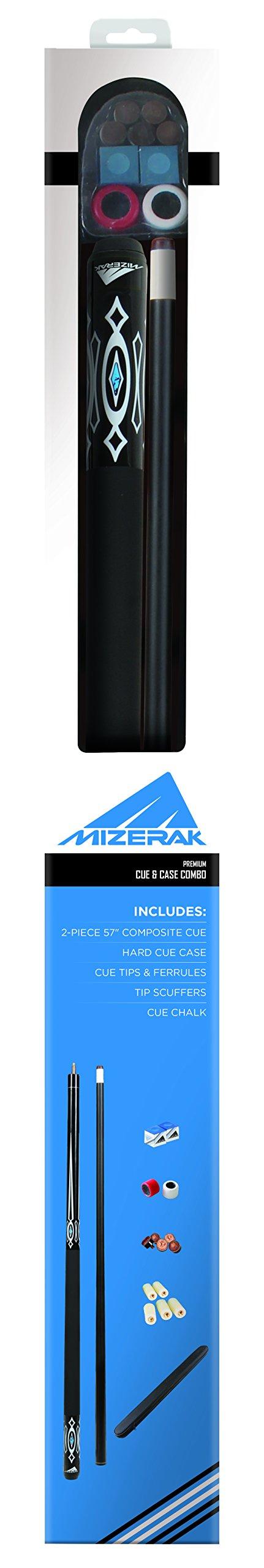 Mizerak Composite Cue & Case Combo