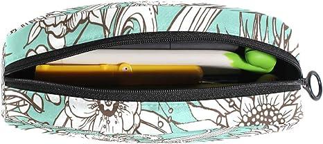 Hengpai English Bulldog - Estuche para lápices y cosméticos, color multi6 talla única: Amazon.es: Oficina y papelería