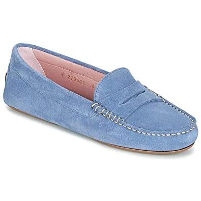 Slipperamp; Blau Bootsschuhe Damen Pretty Ballerinas Microtina VpqUGMSz