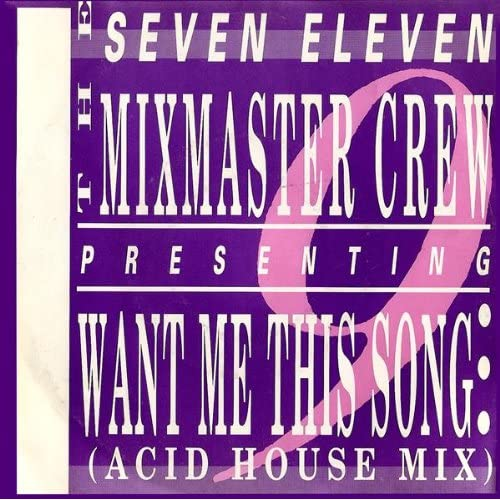 Want me this song acid house mix seven for Acid house mix
