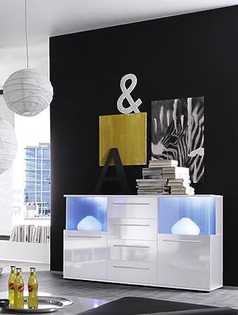 Dreams4Home Sideboard \'Media\', Wohnzimmer Wohnzimmermöbel Vitrine ...