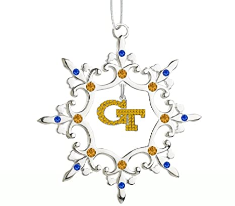 Image Unavailable. Image not available for. Color: Georgia Tech Rhinestone Christmas  Ornament - Amazon.com : Georgia Tech Rhinestone Christmas Ornament : Sports Fan