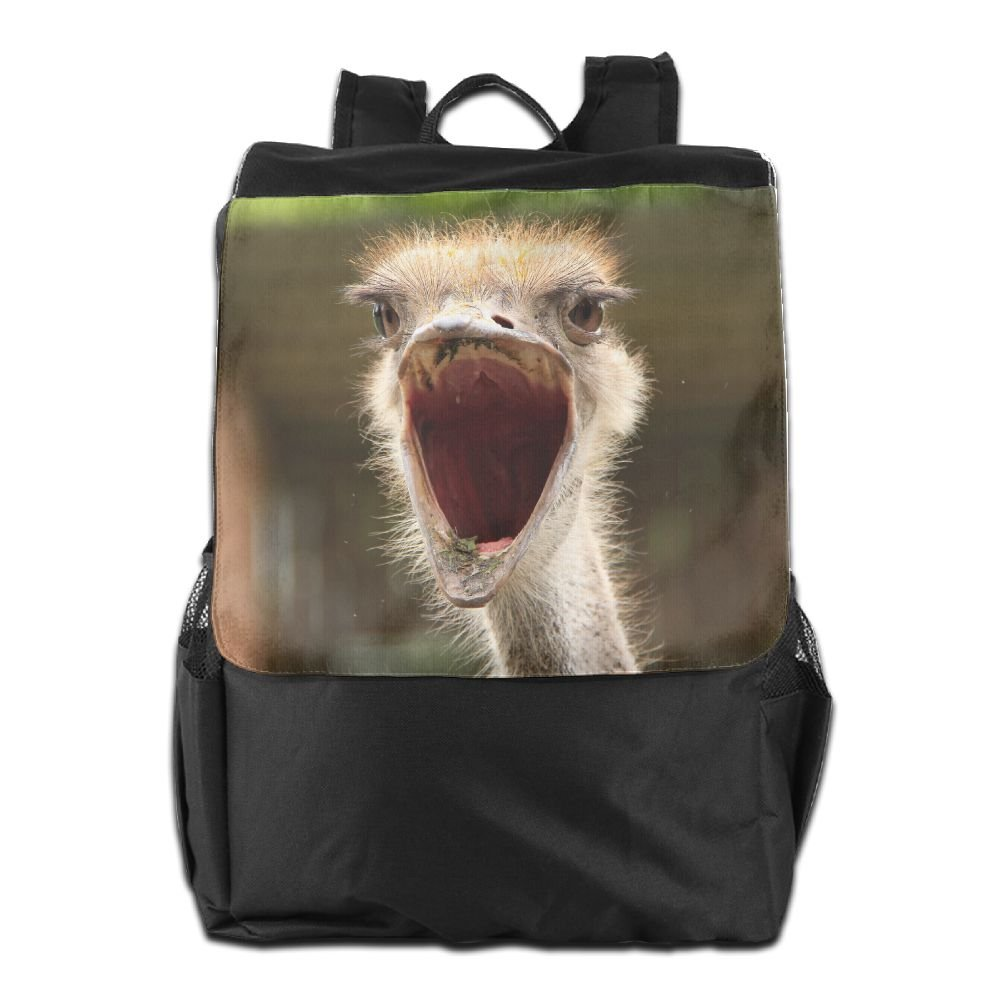 Believe Ddspp Roaring Ostrich Outdoor Backpack Rucksack Laptop Bag high-quality