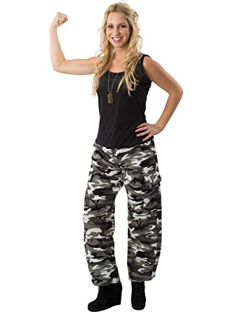 Adult Arctic Camo Army Girl Halloween Costume  sc 1 st  Amazon.com & Amazon.com: Orion Costumes Womens Arctic Camouflage Army Soldier ...
