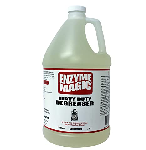Heavy Duty Degreaser >> Enzyme Magic Heavy Duty Degreaser Industrial Strength To Clean Grease Oil Stains Of Concrete Decks Floors Tools Auto Parts Non Toxic Natural