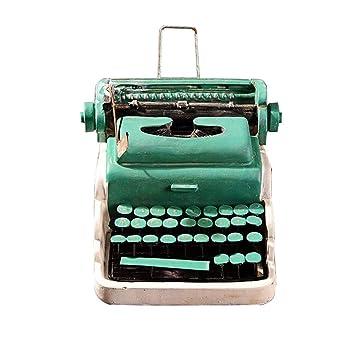 ziwangjun Retro nostálgico Modelo de máquina de Escribir de la Resina Adorno máquina de Escribir estatuilla