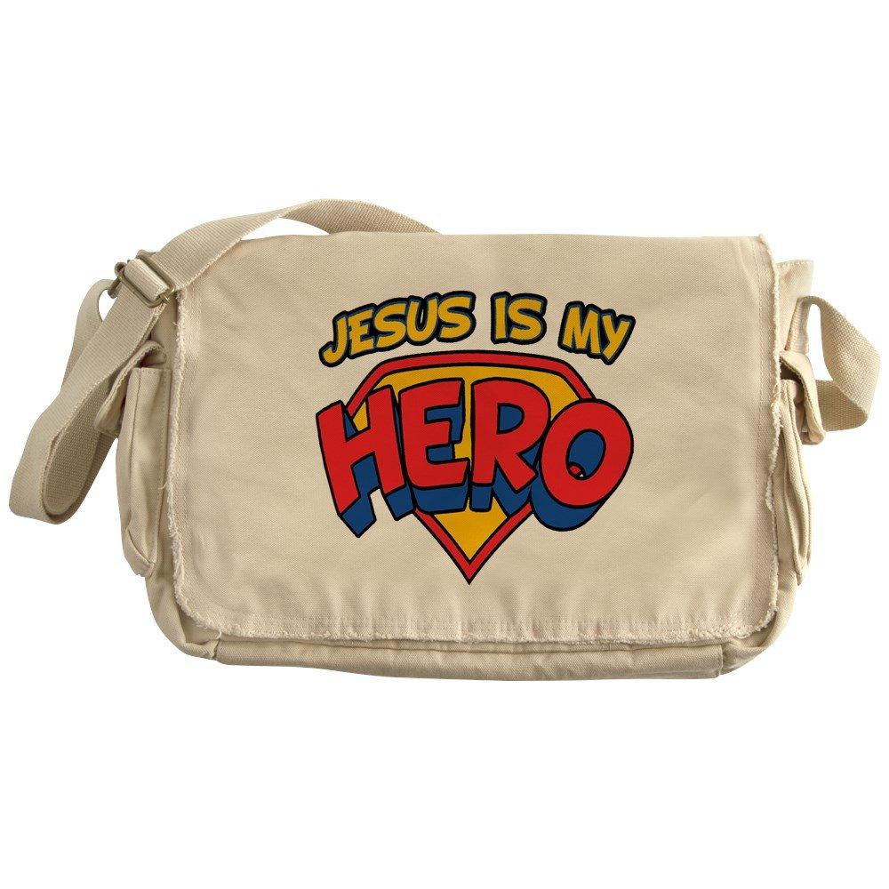Royal Lion Khaki Messenger Bag Jesus Is My Hero