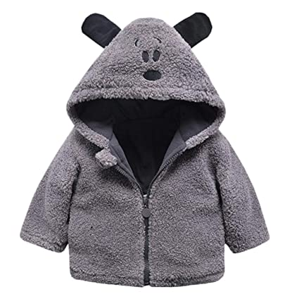 97e4110a6889 Amazon.com  Dream Mimi Baby Girl boy Autumn Winter Lamb Rabbit Ears ...