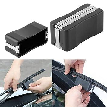 Herramienta de reparación de la cuchilla del limpiaparabrisas, kit de reparación durable del parabrisas del coche universal, reparando los limpiaparabrisas ...