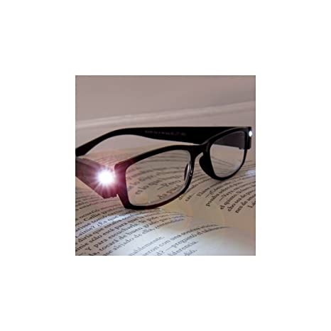 Gafas Graduadas de Lectura con LED - +2,00: Amazon.es: Hogar