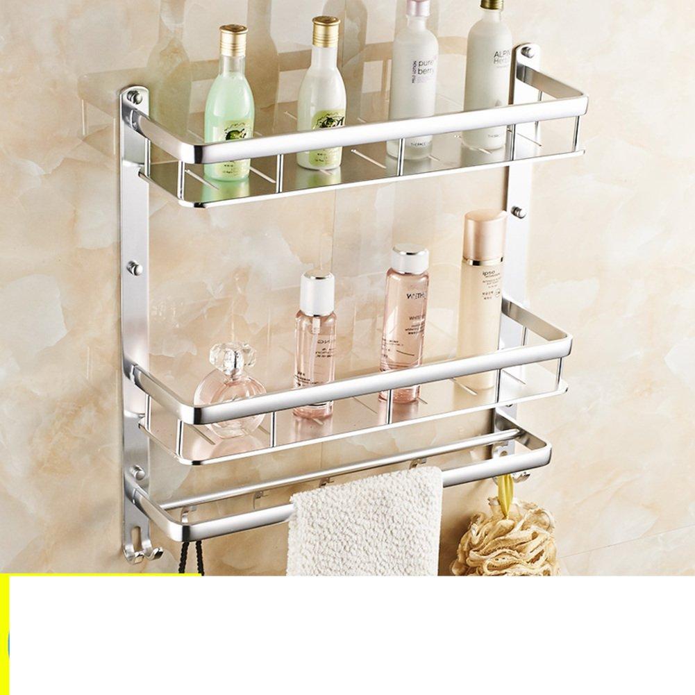 Space aluminium storage racks the bathroom towel rack for Bath accessories sale