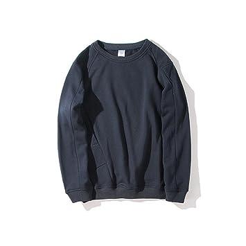 ndsoo Los japoneses Hombres Camisetas Sudaderas con Capucha Sudadera Camiseta Capucha Personalidad,Azul Marino,XL: Amazon.es: Deportes y aire libre