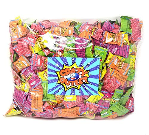 - CrazyOutlet Pack - Thunderbolts Extreme Sour Hard Candy, Assorted Flavor Bulk Candy, 4 lbs