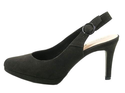 Tamaris Schuhe 1 1 29605 28 Bequeme Damen Sling, Sommerschuhe für modebewusste Frau,