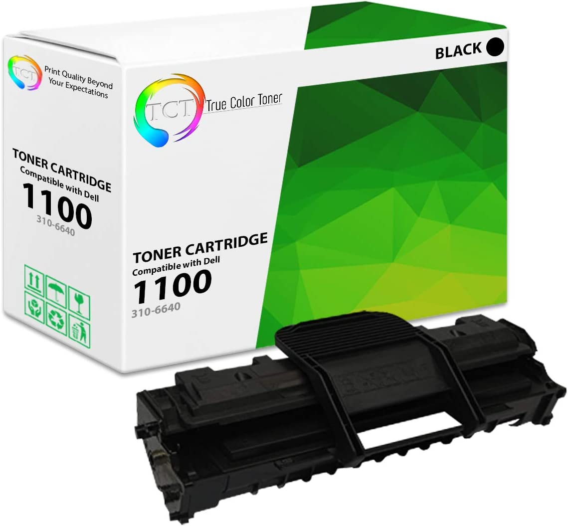 310-6640 Compatible Black Toner For Dell Printers 3 PACK