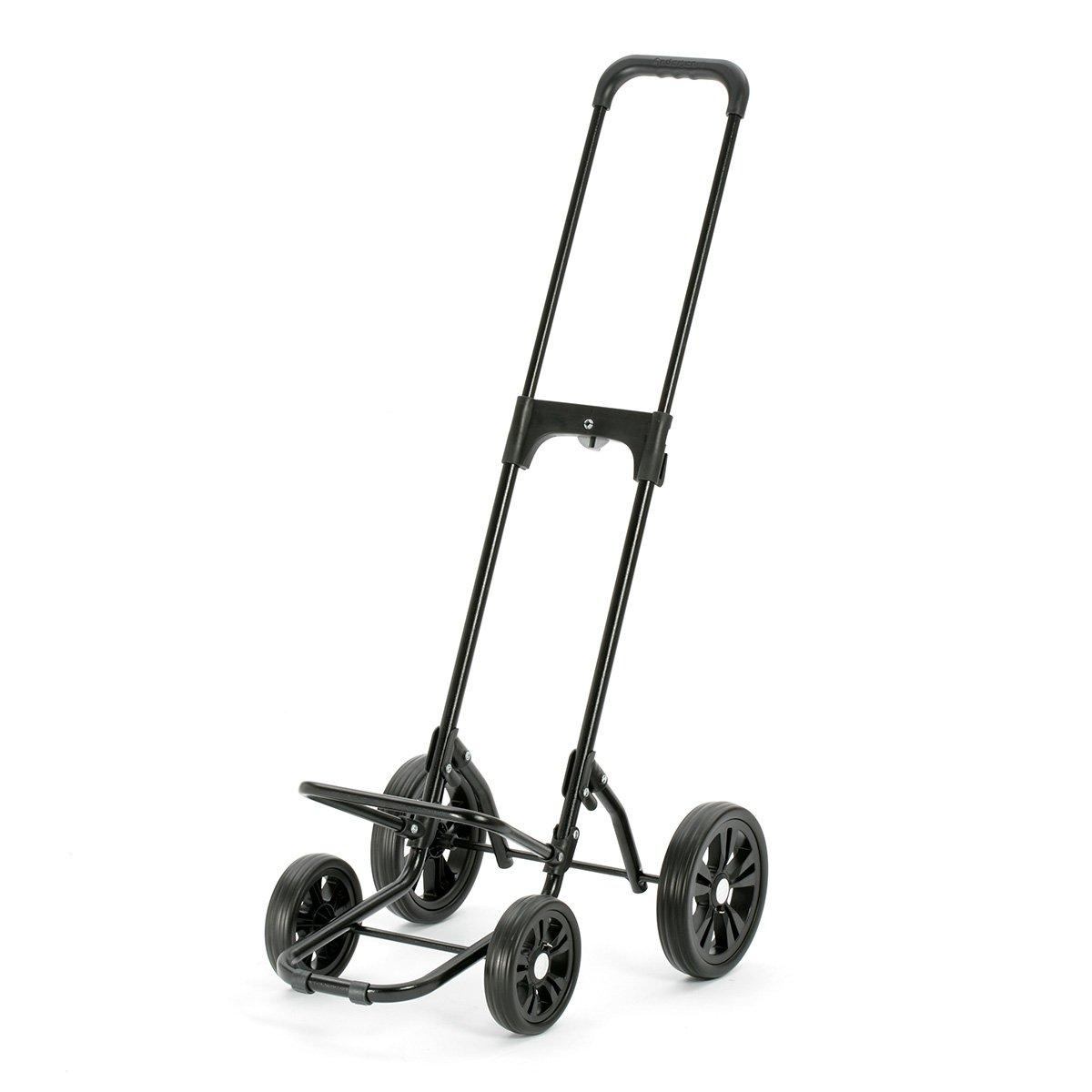volume 50 l cadre acier avec 4 roues Andersen Chariot de courses Quattro avec sacoche Vara noire