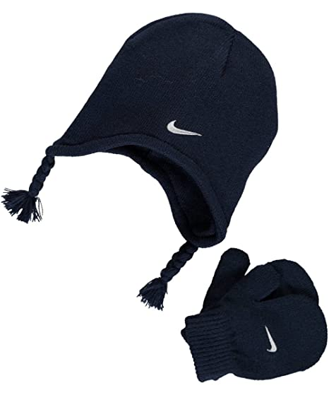 best service a3e97 dc680 Nike Child s Knit Hat   Mittens Set (2 4T, ...