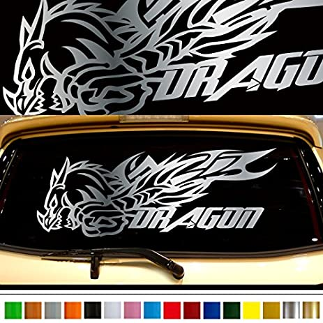 Dragon car rear sticker 42 car custom stickers decals 【8 colors to choose from】