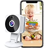 Wireless Smart Home Camera, 1080p HD Indoor 2.4G IP Security Surveillance System with Night Vision 2-Way Audio for Home…