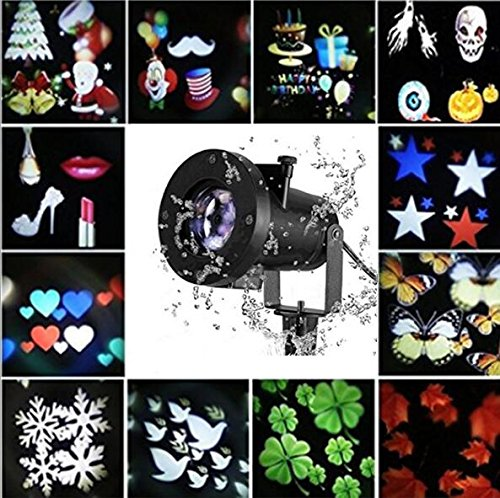 Christmas Projector Lights,12 Patterns Christmas Decoration Lights LED