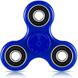 Toplay Fidget Spinner Toy Stress Reducer Ceramic Bearing - Perfect For ADD, ADHD, Anxiety, and Autism Adult Children (Blue) ?