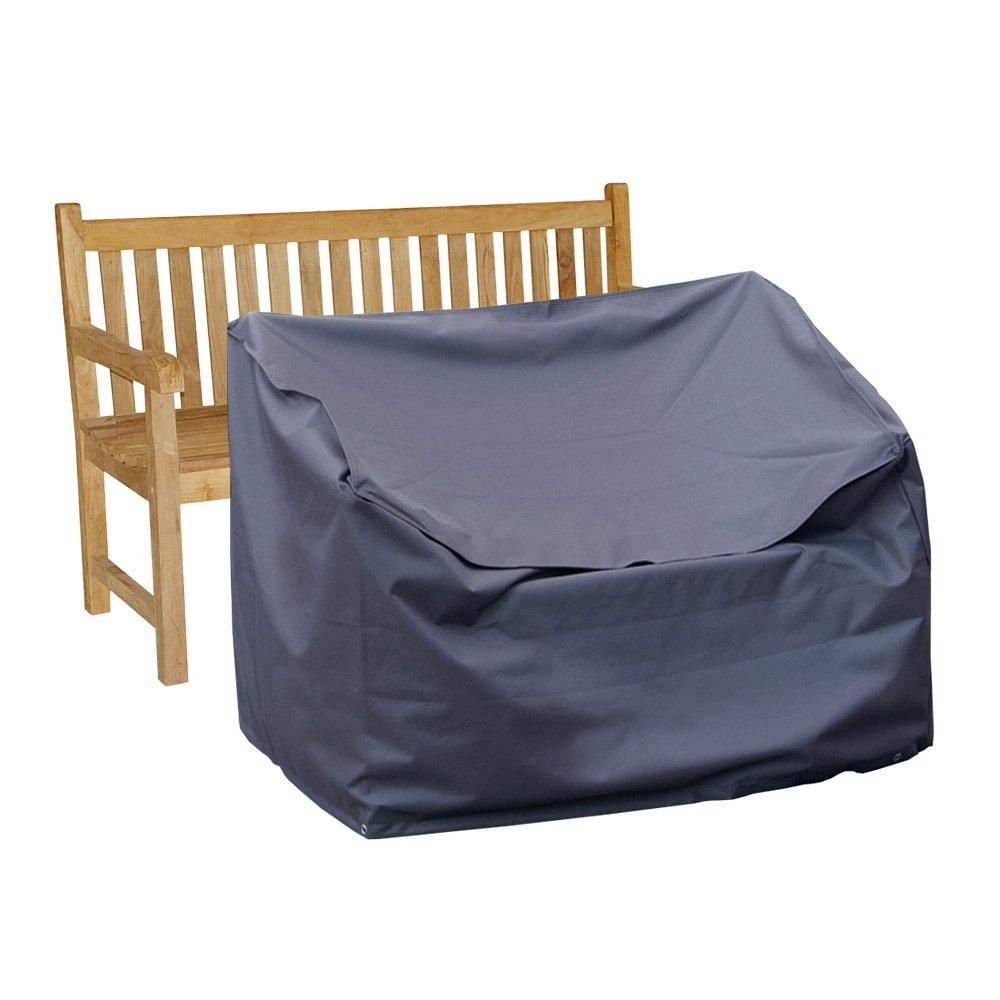Vida - Telo di copertura per panca da giardino, 3 posti, 160 x 80 x 75 cm