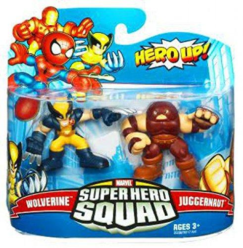 Marvel Superhero Squad Series 19 Mini 3 Inch Figure 2Pack Wolverine Juggernaut