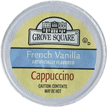 Grove Square 50 Cups Cappuccino K-cups
