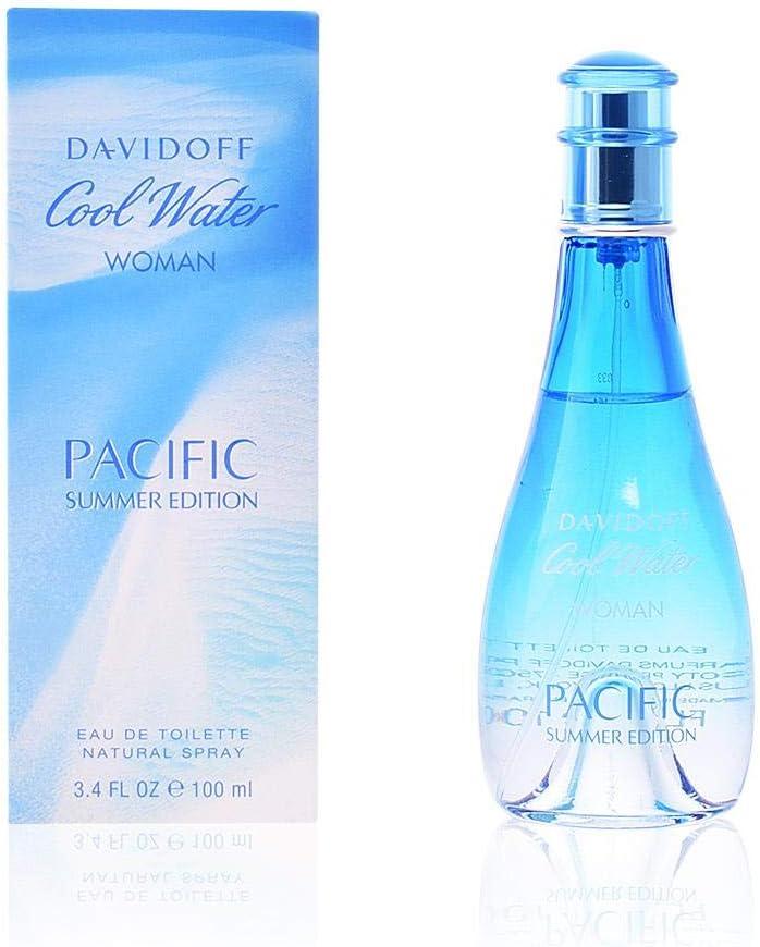 Davidoff Cool Water Woman Pacific Summer Edition Agua de Colonia - 100 ml
