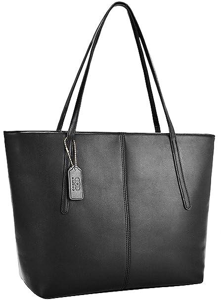 le dernier 124bd e9956 Coofit Sacs portés épaule femme Cabas Sac à main femme cuir Sac femme  shopping Sac bandoulière femme en cuir