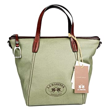 La Martina Canvas Shopper, Vintage Shopping Tasche: Amazon