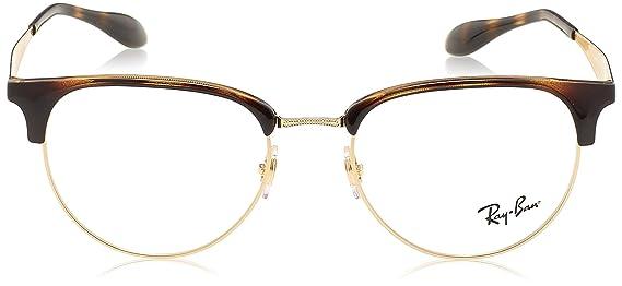 0a1e62ef96b ... Amazon.com Ray-Ban Mens RX6396 Eyeglasses BlackGold 53mm Clo so cheap  a5f44 d5760 ...