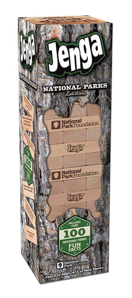 USAopoly National Parks Edition Jenga Action Game