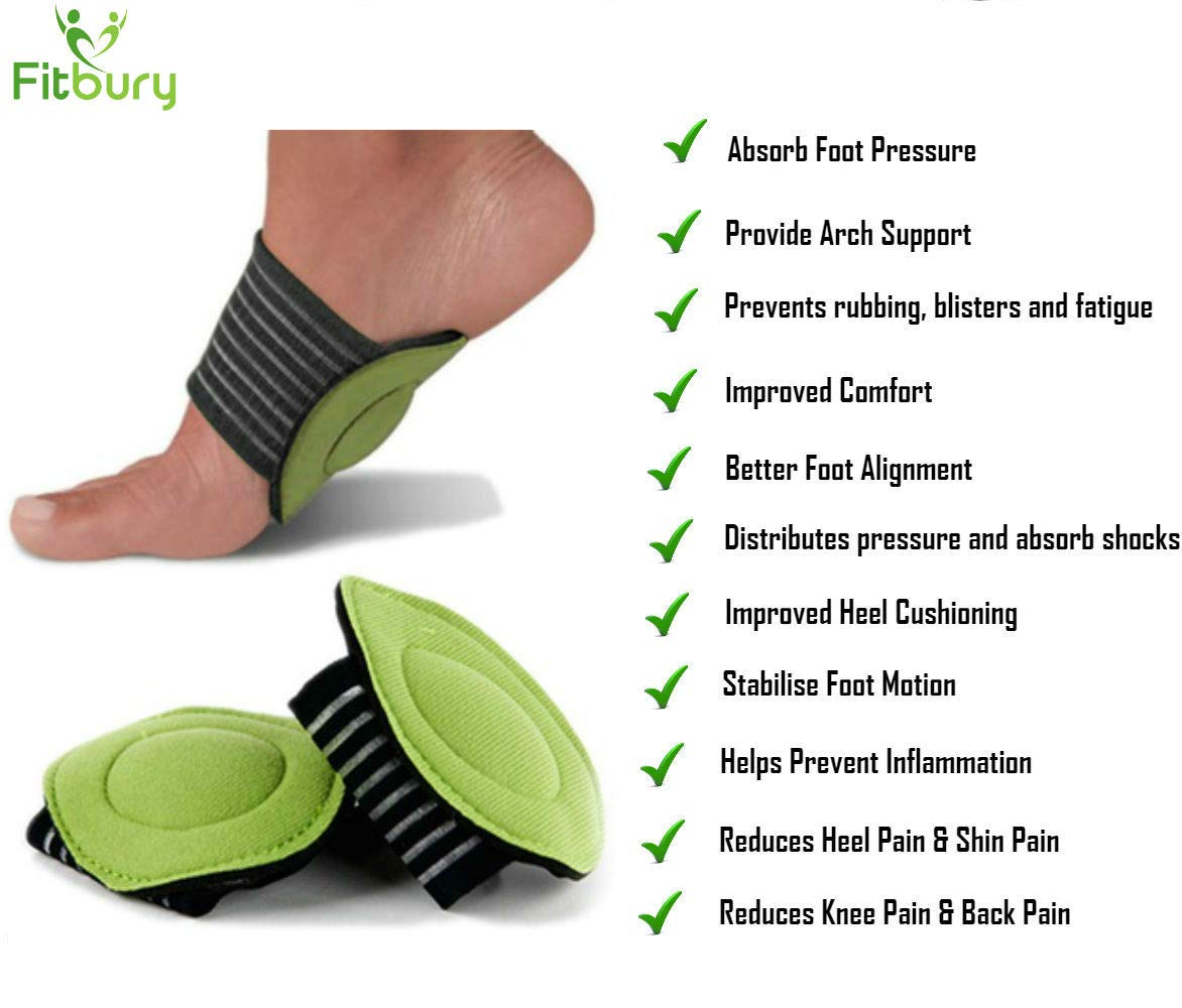 ccf35f8ae1 ... Arch Supports & Free eBook, [2 Pairs] Flat Feet Insoles, Plantar  Fasciitis Insoles, Plantar Fasciitis Supports, Helps Fallen Arches, Heel  Pain & Back ...