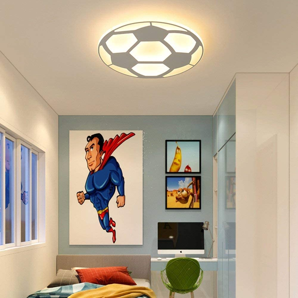 L.HPT - Lámpara de Techo LED de 48 W, Creativa, 3D, diseño de ...