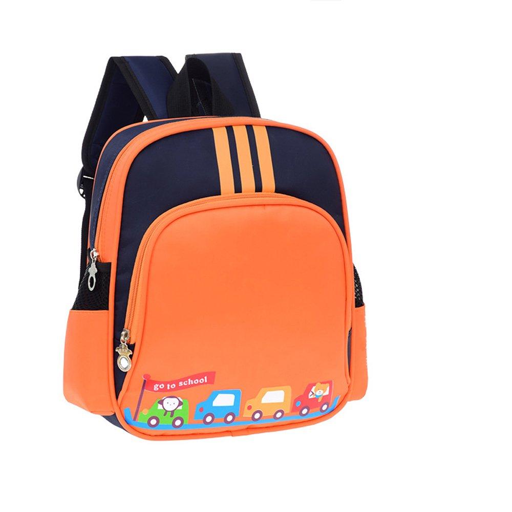 Waterproof Preschool Toddler Backpack Boys Nylon Lightweight Kids' Kindergarten School Book Bags with Adjustable Strap HOUTBY