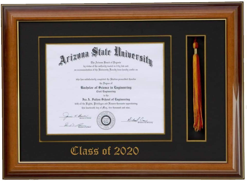 Black Celebration Frames Infinity Diploma Frame