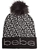 You will love your new winter hat by  Bebe. Made from 100% super soft acrylic this hat is sure to keep you looking good while staying warm during the cold winter months  Fashionable, super cute design with studded Bebe logo, for a great look...