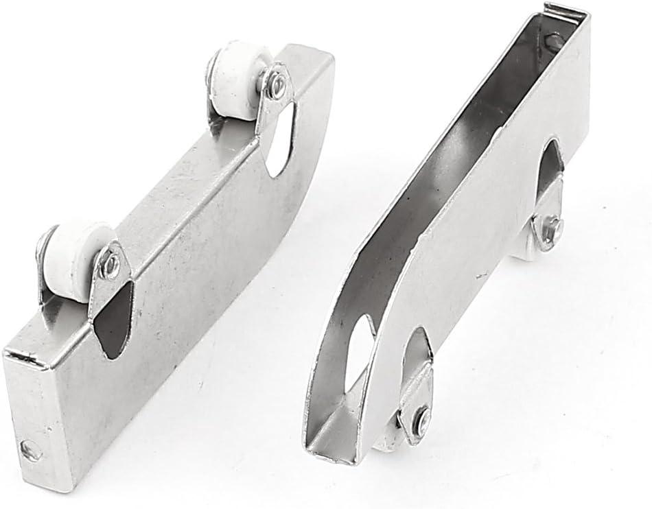 Acero inoxidable ruedas rodillo puerta de cristal corredera cilindro de 5 mm 5 piezas: Amazon.es: Bricolaje y herramientas