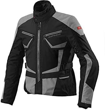 Chaqueta moto impermeable ideal para turismo 3 capas Spidi MULTIWINTER H2OUT XL negro / azul claro: Amazon.es: Coche y moto