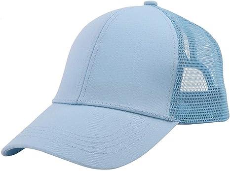 iBàste - Gorra de béisbol para Mujer, diseño de Cola de Caballo ...