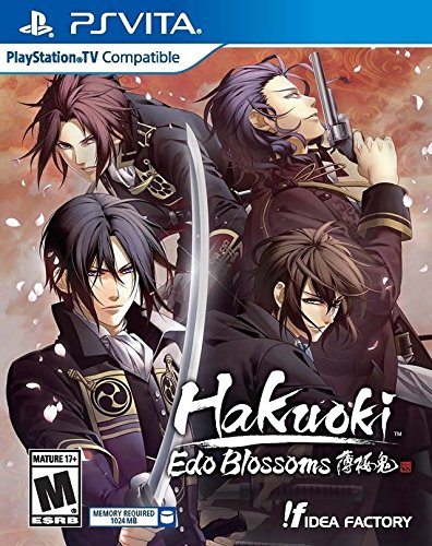 Hakuoki: Edo Blossoms - PlayStation Vita