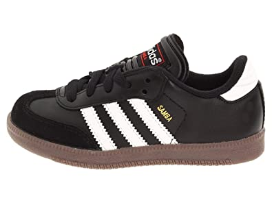 2e4165755f6 adidas Jr Samba Classic Black Runwht Soccer Shoes - 1Y