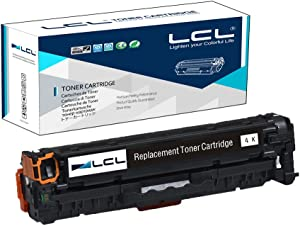 LCL Remanufactured Toner Cartridge Replacement for HP 305X 305A CE410X CE410A 4000 Page M351 M375nw M451nw M451dn M451dw M475dn M475dw (1-Pack Black)