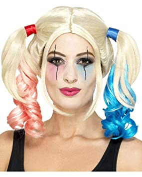 Crazy Harlequin Wig  Amazon.co.uk  Toys   Games edf6d4fed320