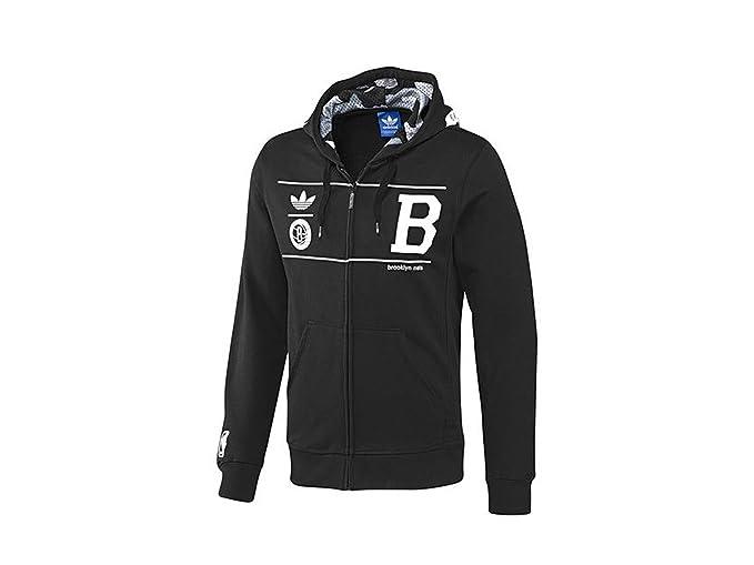 adidas Originals - Sudadera con capucha - Brooklyn hombre, Hombre, negro, small: Amazon.es: Deportes y aire libre
