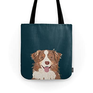 amazon com society6 hollis australian shepherd gifts for dog