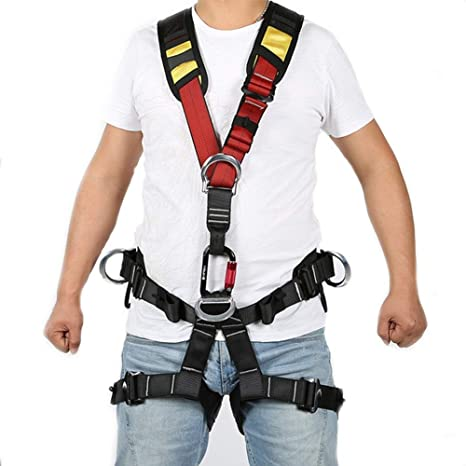 MYXMY Cinturón de arnés de Escalada para Rescate en Incendios ...