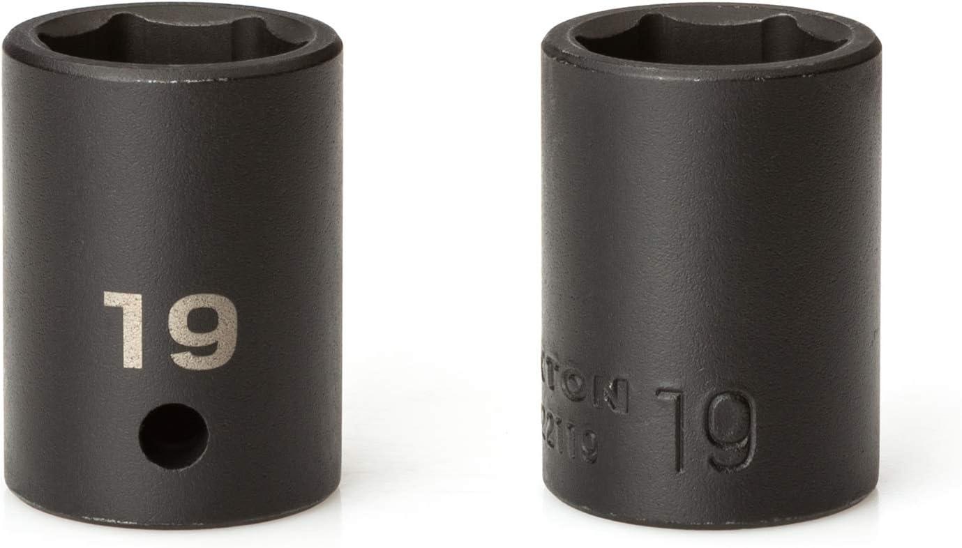 TEKTON 1//2 Inch Drive 6-Point Impact Socket Set 31-Piece | SID92327 8-38 mm